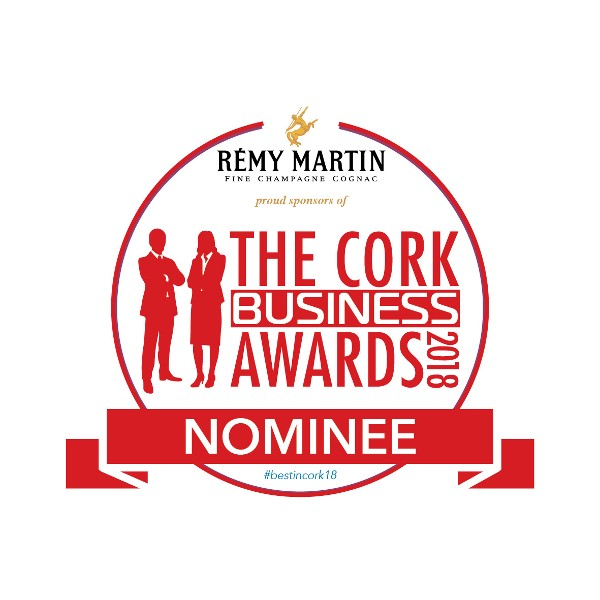 Nominated for The Cork Business Awards 2018!
