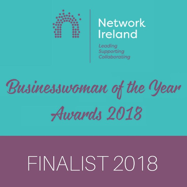 Adrianna Hegarty is a finalist for Network Cork Business Woman of the Year Awards