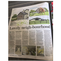 Lovely neigh-bourhood in the Irish Examiner