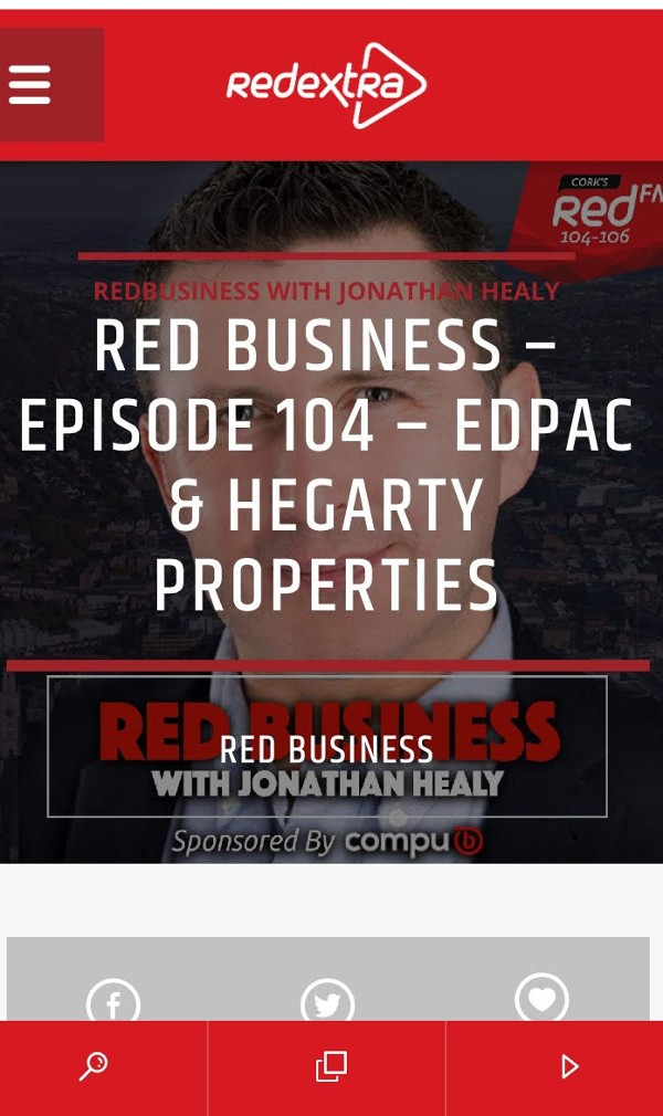 Adrianna chats with Jonathan Healy on Red Business podcast.