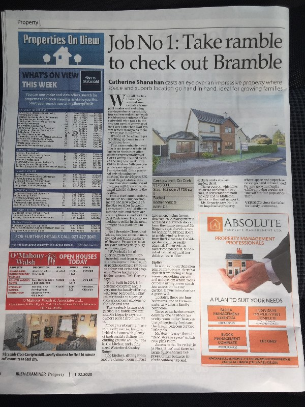 Job No 1: Take ramble to check out Bramble