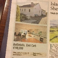 Cottage in Castletown, Ballintotis featured in Irish Examiner