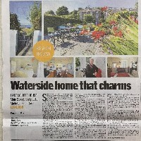 Waterside home that charms